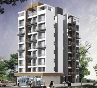 Gallery Cover Image of 700 Sq.ft 1 BHK Apartment for rent in Platinum Royale, Ulwe for 7000