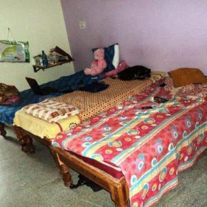 Bedroom Image of Rishab PG in Hennur Main Road