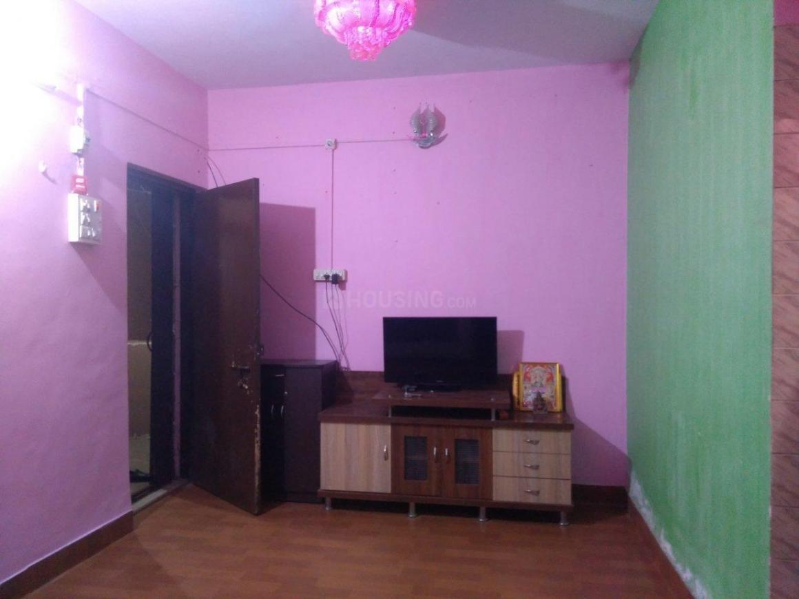 Living Room Image of 515 Sq.ft 1 BHK Apartment for rent in Kopar Khairane for 16500