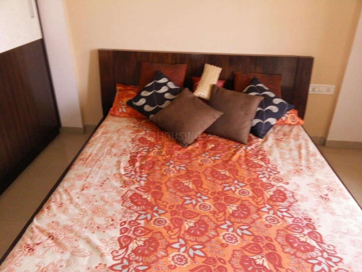 Bedroom One Image of 1500 Sq.ft 3 BHK Apartment for rent in Undri for 25000