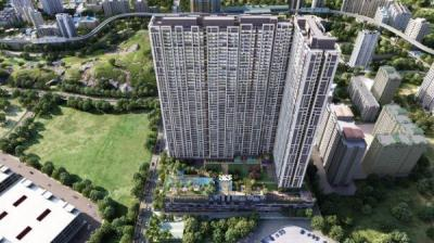 Gallery Cover Image of 1162 Sq.ft 3 BHK Apartment for buy in Dosti Eastern Bay Phase 1, Wadala for 25900000