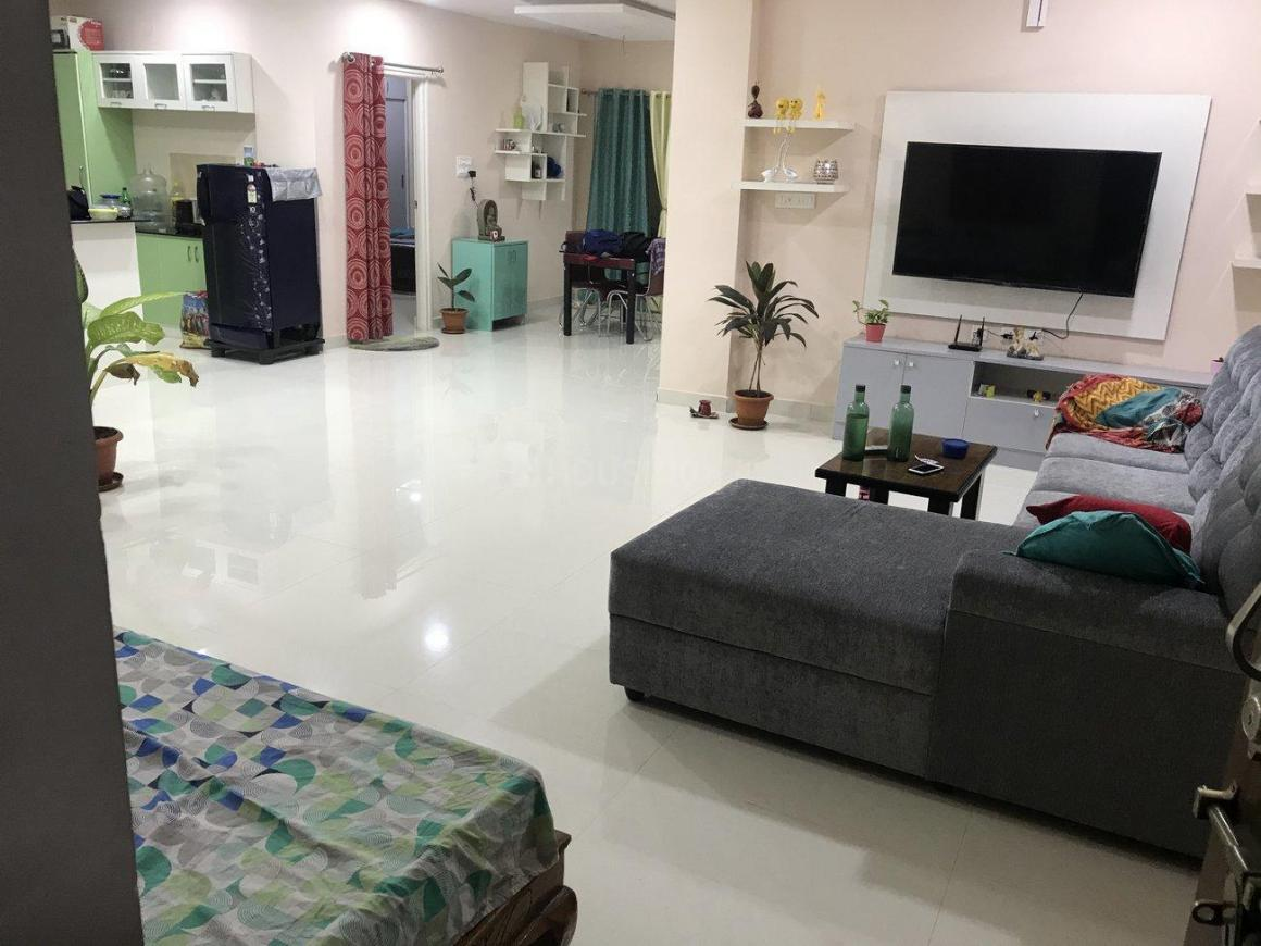 Living Room Image of 1430 Sq.ft 2 BHK Apartment for rent in Nizampet for 16500