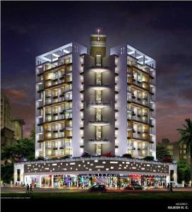 Gallery Cover Image of 1380 Sq.ft 3 BHK Apartment for rent in Atlantic heritage, Ulwe for 18000