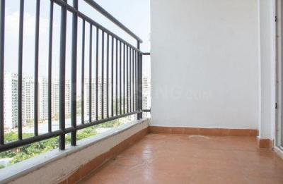 Balcony Image of 3 Bhk In Prestige Shantiniketan in Krishnarajapura