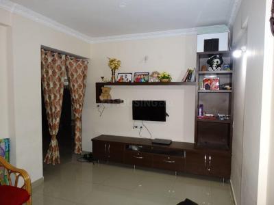 Gallery Cover Image of 1400 Sq.ft 3 BHK Apartment for rent in Sri Dwaraka Trinity Residency, Krishnarajapura for 20000
