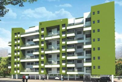 Gallery Cover Image of 650 Sq.ft 1 BHK Apartment for buy in Bhandari Greenfield, Hadapsar for 4200000