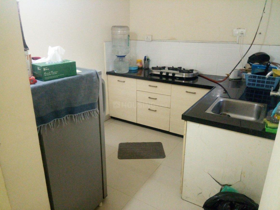 Kitchen Image of 600 Sq.ft 1 BHK Apartment for rent in Hadapsar for 19000