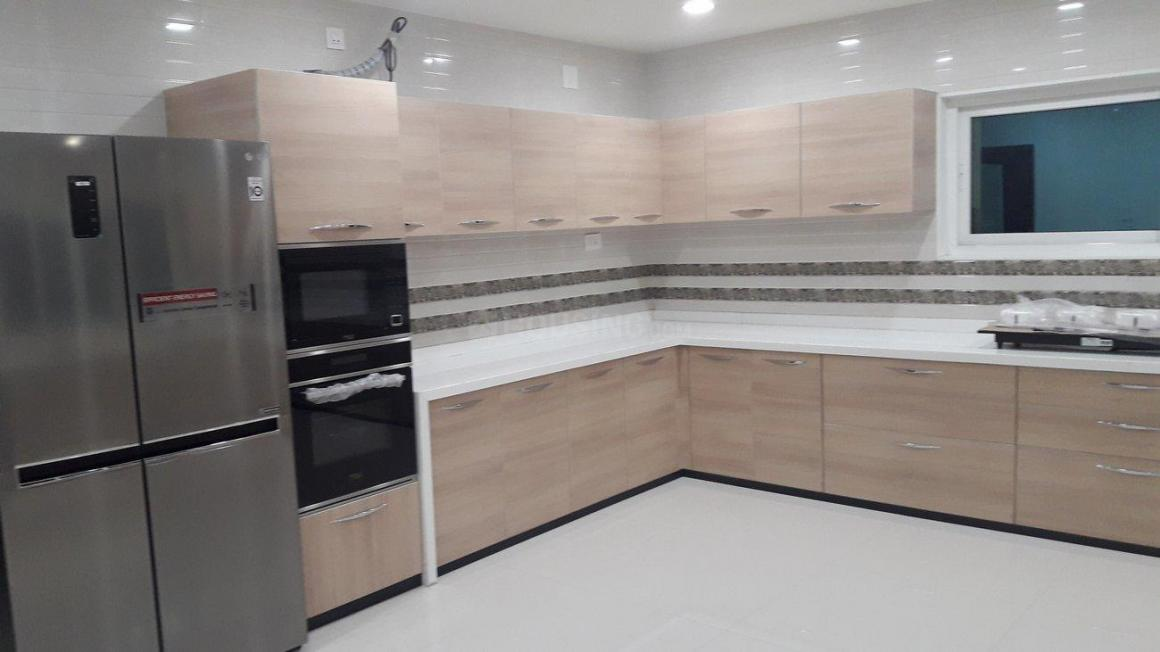 Kitchen Image of 6500 Sq.ft 4 BHK Independent House for rent in Thaltej for 130000