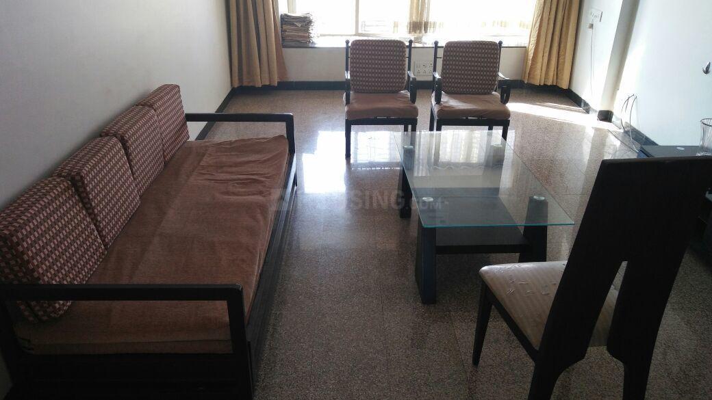 Living Room Image of 2100 Sq.ft 3 BHK Apartment for rent in Agarkar Nagar for 40000