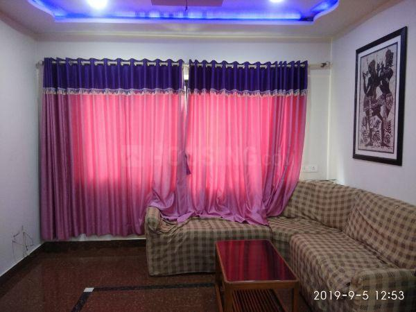 Living Room Image of 1200 Sq.ft 2 BHK Apartment for rent in Borivali West for 35000