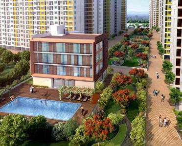 Gallery Cover Image of 353 Sq.ft 1 RK Apartment for buy in Padur for 1696000