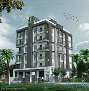 Gallery Cover Image of 674 Sq.ft 2 BHK Apartment for buy in Botanical Garden Area for 2359000