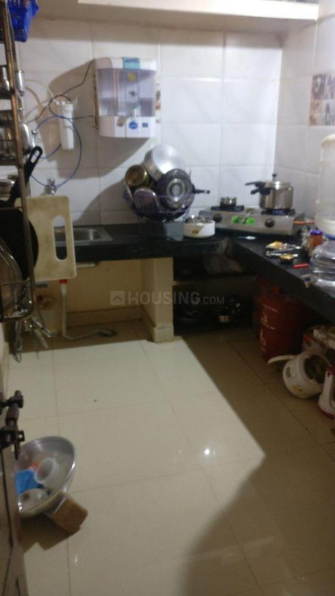 Kitchen Image of 1200 Sq.ft 2 BHK Independent House for rent in Murugeshpalya for 22000