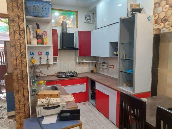 Kitchen Image of 1125 Sq.ft 3 BHK Apartment for buy in Paschim Vihar for 14000000