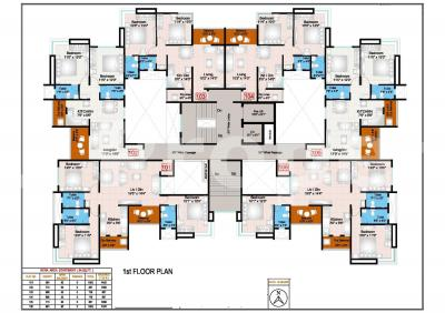Gallery Cover Image of 1583 Sq.ft 3 BHK Apartment for buy in Kothrud for 18900000