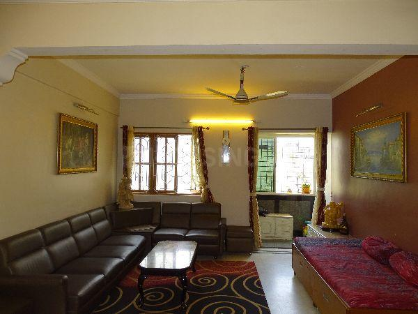 Living Room Image of 1840 Sq.ft 3 BHK Apartment for rent in J. P. Nagar for 38000