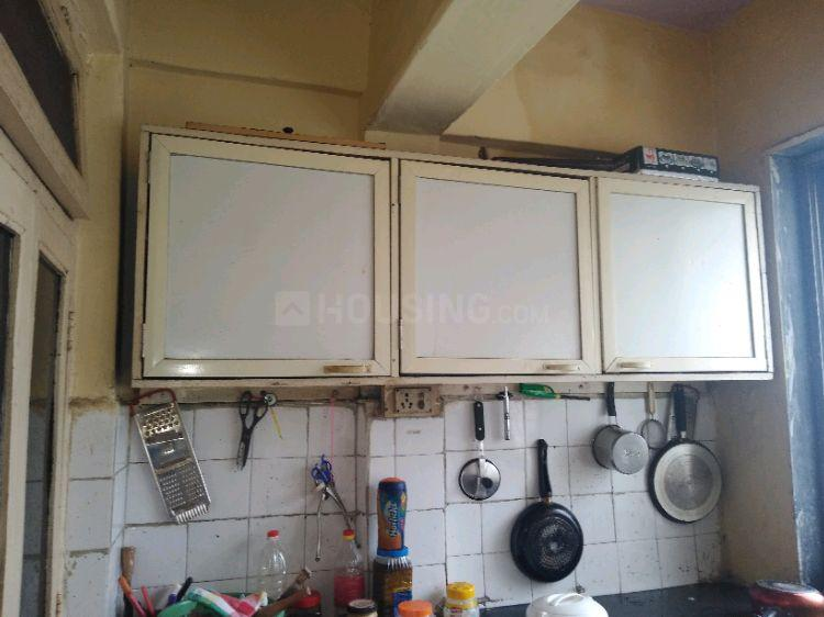 Kitchen Image of 1000 Sq.ft 2 BHK Independent House for rent in Vashi for 25000