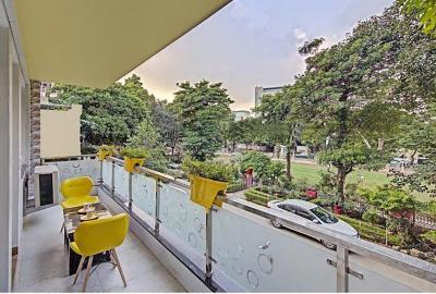 Balcony Image of Nuab House-near Fortis & Huda City Centre in Sushant Lok I