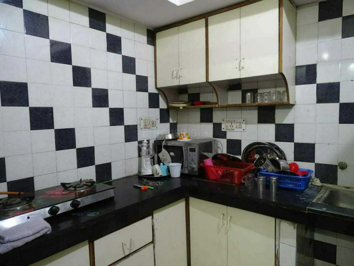 Kitchen Image of Radhika Girls PG in Lajpat Nagar