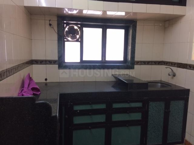 Kitchen Image of 550 Sq.ft 1 BHK Apartment for rent in Dombivli West for 9500