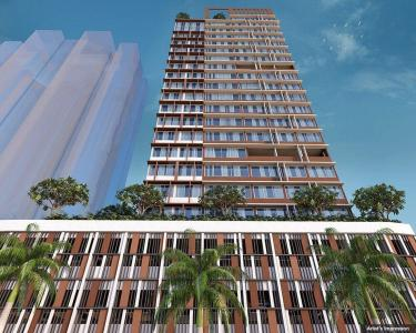 Gallery Cover Image of 1320 Sq.ft 3 BHK Apartment for buy in Dosti Belleza, Parel for 32900000