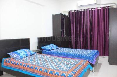 Bedroom Image of 3/2/1/ Fully Furnished PG Neat & Clean,flat At Powai Vihar Complex in Powai