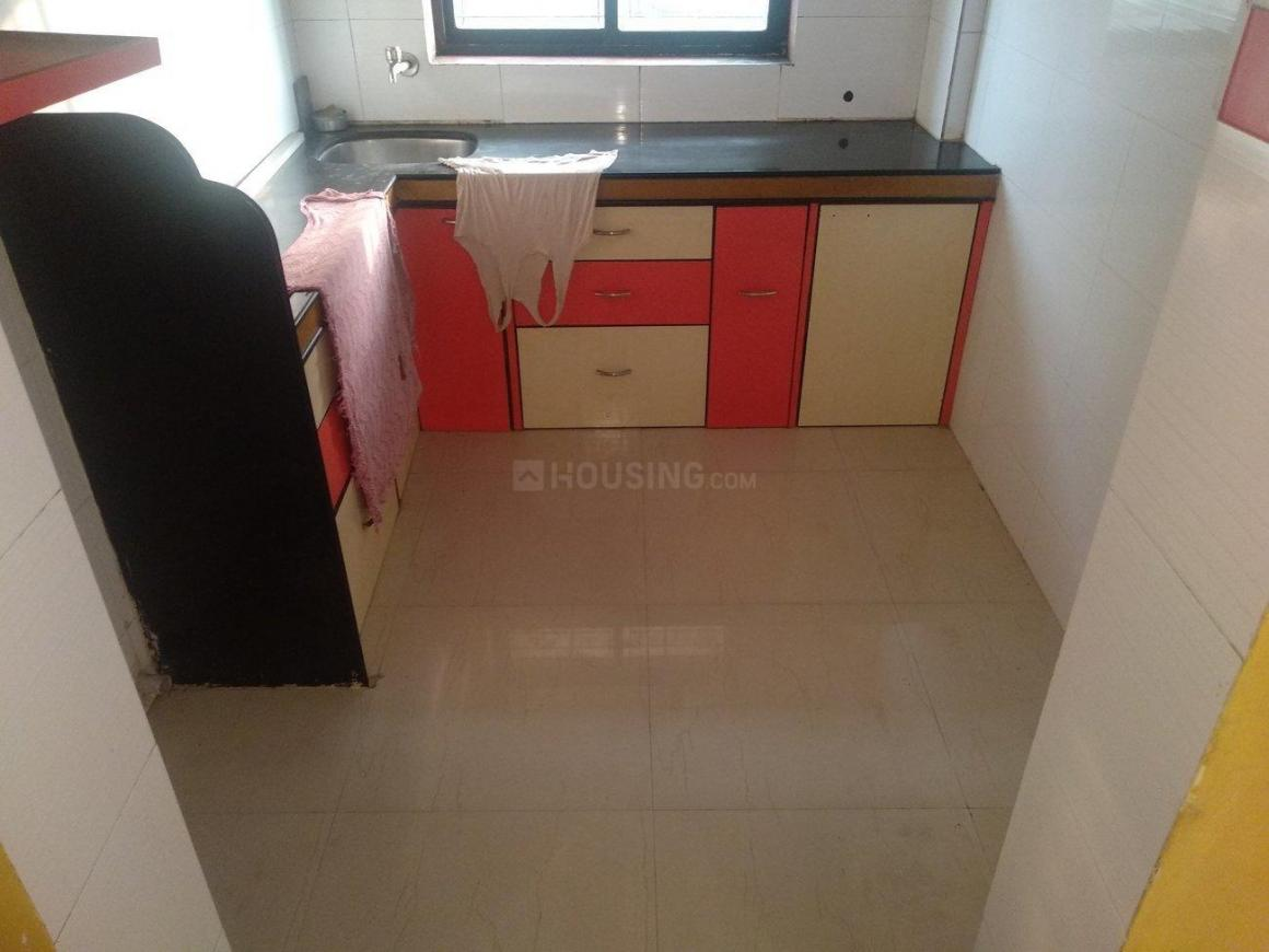 Kitchen Image of 575 Sq.ft 1 BHK Apartment for rent in Devicha Pada for 8500