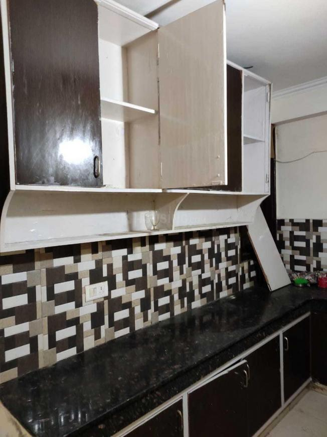 Kitchen Image of 500 Sq.ft 1 BHK Independent Floor for rent in Chhattarpur for 8000