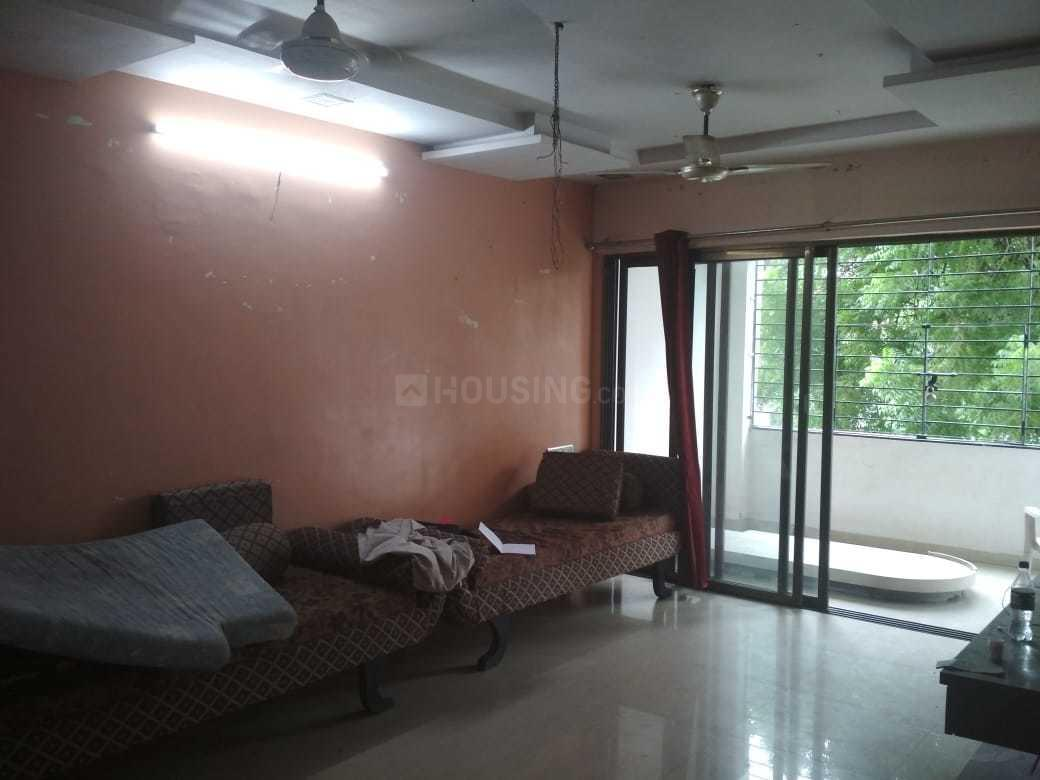 Living Room Image of 1300 Sq.ft 3 BHK Apartment for rent in Thaltej for 24000