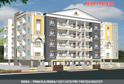 Gallery Cover Image of 1760 Sq.ft 3 BHK Apartment for buy in Rays Royal Castle, Thanisandra for 7600000