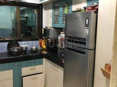 Kitchen Image of 580 Sq.ft 1 BHK Apartment for rent in Kurla West for 28000