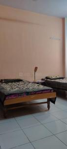 Bedroom Image of Krishna PG Accommodation in Bodakdev