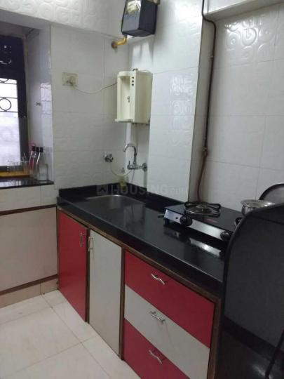 Kitchen Image of 600 Sq.ft 1 BHK Apartment for rent in Chembur for 35000