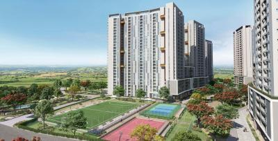 Gallery Cover Image of 1097 Sq.ft 2 BHK Apartment for buy in Eden At Brigade Cornerstone Utopia, Varthur for 7200000