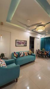 Hall Image of 650 Sq.ft 1 BHK Apartment for buy in Haware Engineers And Builders Grand Edifice, Malad East for 10400000