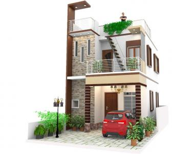 Gallery Cover Image of 800 Sq.ft 3 BHK Villa for buy in Puzhal for 4100000