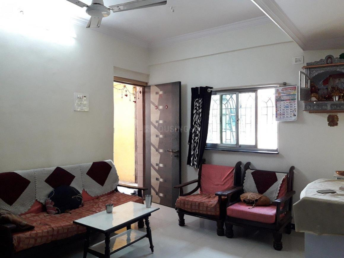 Living Room Image of 668 Sq.ft 3 BHK Apartment for buy in Kalwa for 7000000