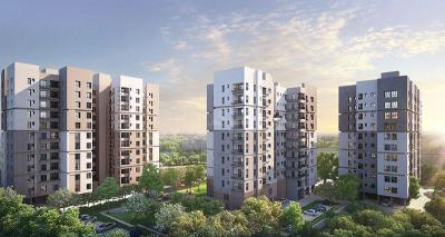 Gallery Cover Image of 1192 Sq.ft 3 BHK Apartment for buy in Srijan Natura, New Alipore for 6800000