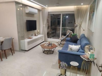 Hall Image of 1250 Sq.ft 2 BHK Apartment for buy in Satyam 17 West, Sanpada for 22500000