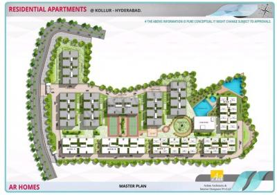 Gallery Cover Image of 1205 Sq.ft 2 BHK Apartment for buy in Hitech City for 4000000
