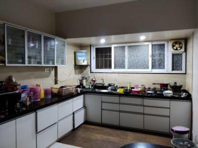 Kitchen Image of Girls PG in Pimple Saudagar
