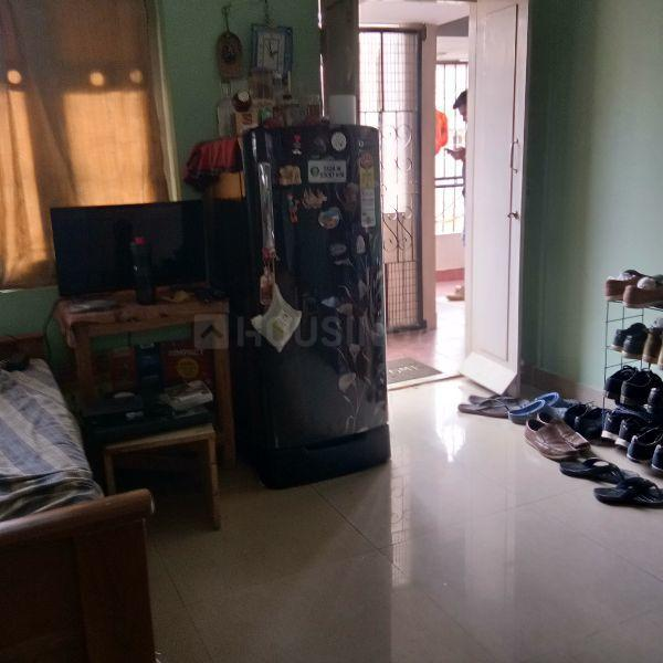 Living Room Image of 500 Sq.ft 1 BHK Independent House for rent in Ulsoor for 14000