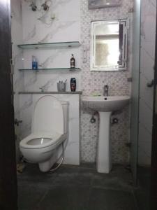 Bathroom Image of Afoldable PG Options in Karol Bagh