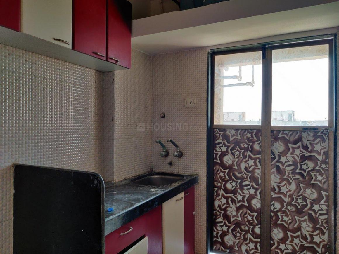 Kitchen Image of 650 Sq.ft 1 BHK Apartment for rent in Vasai East for 7000