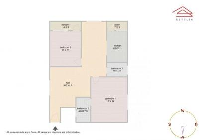 Gallery Cover Image of 1201 Sq.ft 2 BHK Apartment for buy in Sai Paragon Meadows, Brookefield for 5500000