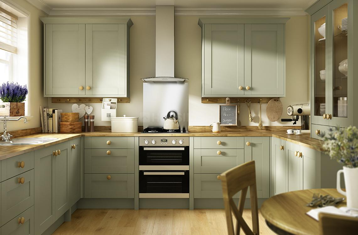 Kitchen Image of 1025 Sq.ft 1 BHK Apartment for buy in Dighe for 13979875