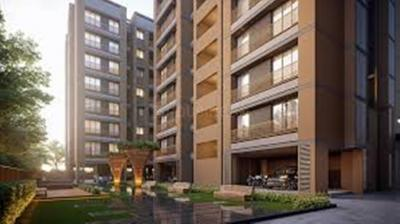 Gallery Cover Image of 1215 Sq.ft 2 BHK Apartment for buy in Suryam Aura, Nikol for 3607000