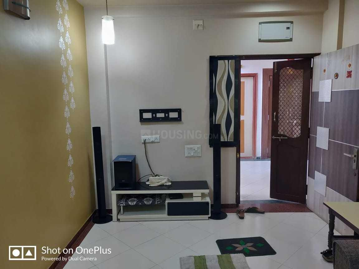 Living Room Image of 1500 Sq.ft 3 BHK Apartment for rent in Motera for 21000
