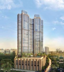 Gallery Cover Image of 2202 Sq.ft 3 BHK Apartment for buy in Peninsula Celestia Spaces, Sewri for 51100000