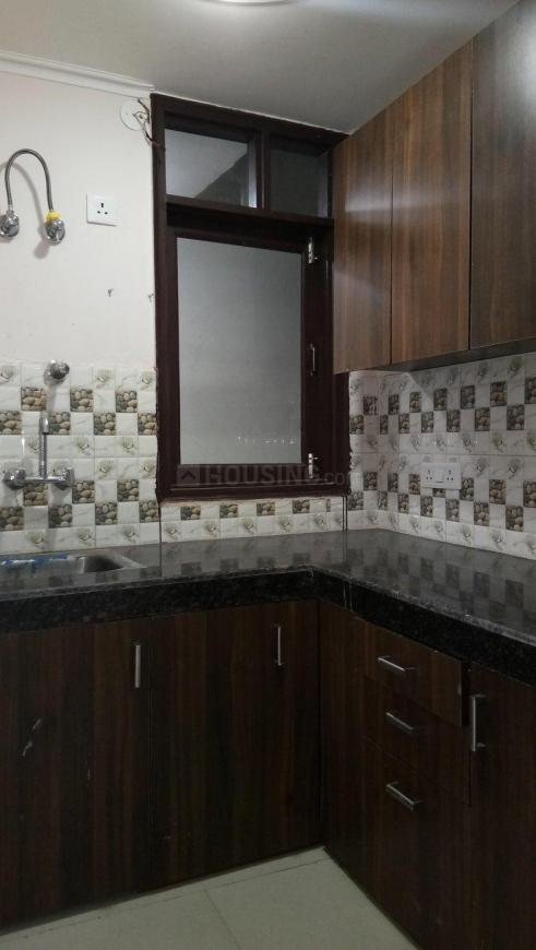 Kitchen Image of 900 Sq.ft 1 BHK Independent Floor for rent in Chhattarpur for 11000